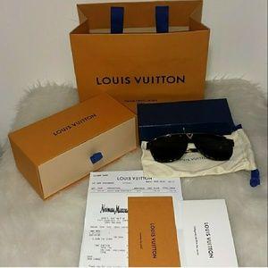 Authentic Louis Vuitton Tortoise Shell Glasses